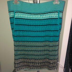 Striped skirt from Loft